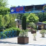 Entrée du camping caravaning Domaine de Gil en Ardèches