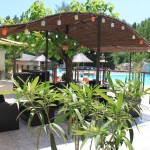 Camping avec terrasse piscine